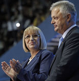 Bulgaarse Politiek Presidentiële Campagne GERB Royalty-vrije Stock Afbeelding