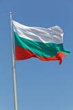 Bulgaarse vlag Stock Foto's
