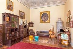 Bulgaarse zaal in paleis Heilige Anton Royalty-vrije Stock Fotografie
