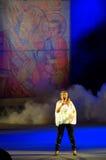 Bulgaarse zanger Margarita Hranova Royalty-vrije Stock Afbeelding