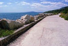 Bulgaarse Zeekust op het gebied van Albena en Balchik Royalty-vrije Stock Fotografie