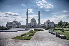 Bulgar白色清真寺 免版税库存照片
