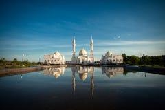 Bulgaren Tatarstan Witte Moskee Stock Fotografie