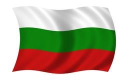 bulgari flagę Obrazy Stock