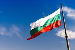 bulgari flagę Zdjęcie Royalty Free
