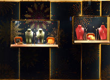 Bulgari jewelry shop Royalty Free Stock Photography