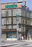 Bulgari shop in the famous Rodeo Drive Stock Images