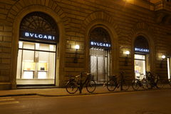 Bulgari store Stock Photo