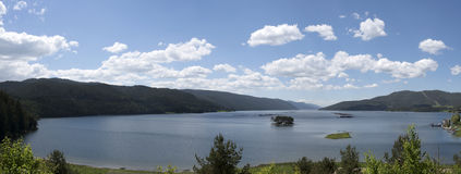 Bulgaria多斯帕特湖 库存图片