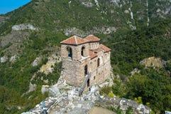 Bulgaria - Asenova Krepost (Keep of Asen). The ancient church Keep of Asen in Bulgaria, city of Asenovgrad Stock Image