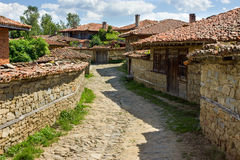 Bulgaria. Balkan rural architecture Royalty Free Stock Photography