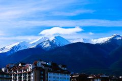 Free Bulgaria, Bansko - November 20, 2017: Balkans Mountains Snow Pe Stock Photos - 115582883
