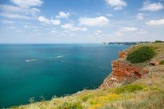 Bulgaria, Black Sea Coast. Landscape of Kaliakra headl Royalty Free Stock Image