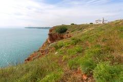 Bulgaria, Black Sea. Coastal landscape. Kaliakra headland Stock Photo