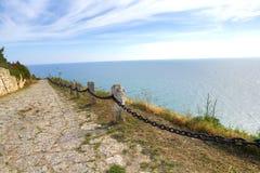 Bulgaria, Black Sea. Coastal landscape. Kaliakra headland Stock Photos