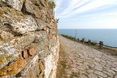 Bulgaria, Black Sea. Coastal landscape. Kaliakra headland Stock Image