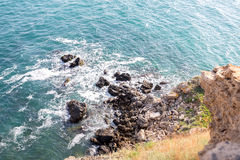 Bulgaria, Black Sea. Coastal landscape. Kaliakra headland Royalty Free Stock Image