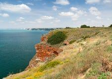Bulgaria, Black Sea. Stones of Kaliakra headland Royalty Free Stock Images