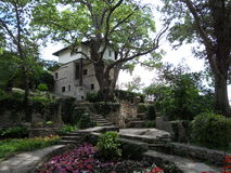 Bulgaria. Botanical garden. Balchik Stock Images