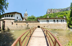 Bulgaria, Bridge across the river near the Dryanovo Monastery Royalty Free Stock Photos