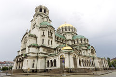 Bulgaria Cathedral Alexander Nevski Stock Photography