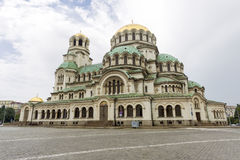 Bulgaria Cathedral Alexander Nevski Royalty Free Stock Images