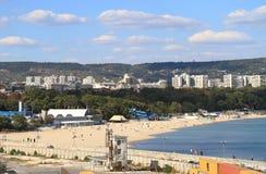 Bulgaria: Varna and Varna Beach Royalty Free Stock Photo