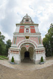 Bulgaria. Entrance to the Cathedral the Nativity of Christ on Shipka Stock Photo