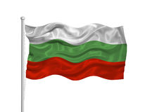 Bulgaria Flag 2 Royalty Free Stock Photo