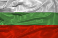 Bulgaria Flag 3 Royalty Free Stock Images