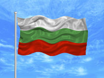Bulgaria Flag  Royalty Free Stock Photo