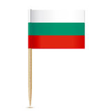 Bulgaria Flag. Flag toothpick 10eps Royalty Free Stock Image