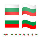 Bulgaria Flag Stock Image