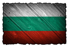 Bulgaria Flag Royalty Free Stock Images
