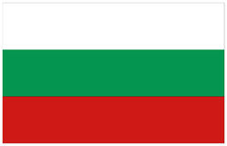Bulgaria flag. Vector file of Bulgaria flag Royalty Free Stock Images