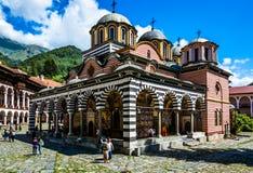 bulgaria klosterrila fotografering för bildbyråer