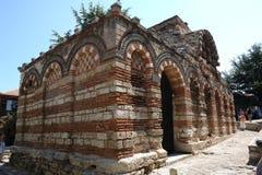 bulgaria kyrkligt nessebar royaltyfria bilder