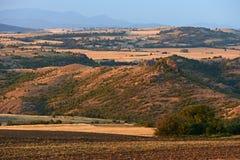 Bulgaria landscape at sunset Stock Photo