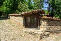 Bulgaria. Log in Bulgarian rural house Stock Photos