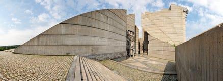 bulgaria monument 1300 till år Arkivbilder