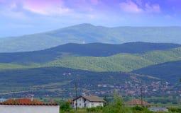 Bulgaria mountain ranges Stock Images
