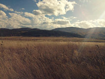 Bulgaria mountains. A beautiful landscape in Bulgaria Royalty Free Stock Photography