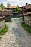 Bulgaria. The narrow winding street Royalty Free Stock Photos