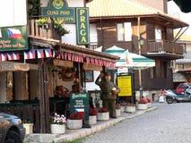 Bulgaria, Nessebar . Czech restaurant Royalty Free Stock Image