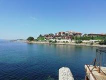 Bulgaria-Nessebar, travel, Sunny Day, warm day stock photo