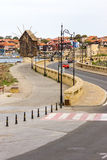 Bulgaria: Pedestrian promenade in the old town of Nessebar Royalty Free Stock Photos