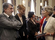 Bulgaria Politics Irina Bokova Stock Photography