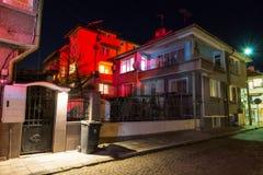 Bulgaria. Pomorie. Night royalty free stock photos