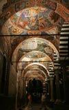 Bulgaria - Rila Monastery at night Stock Image