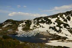 Bulgaria Rila - siete lagos Fotos de archivo